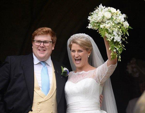 Меган Маркл затмила невесту на свадьбе двоюродной сестры принца Гарри
