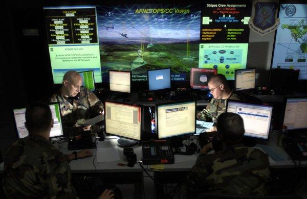 Военные хакеры США смогут нападать на иностранные серверы