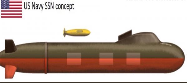 Появились подробности проекта разведывательной субмарины США
