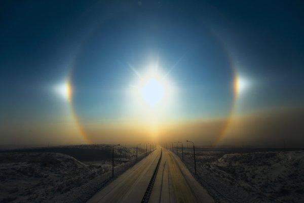 Ярославцы запечатлели редкое небесное явление