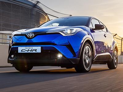 Toyota начинает российские продажи нового кроссовера C-HR