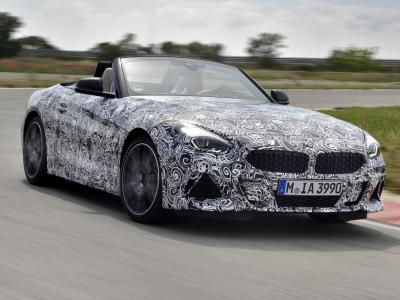 Родстер BMW Z4 проходит испытания во Франции