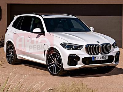 Новый BMW X5 показали в Сети до премьеры