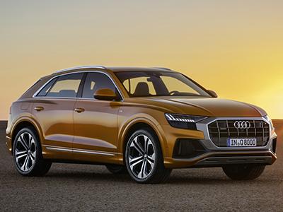 Audi представила новый флагманский кроссовер Q8