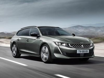 Peugeot представил роскошный универсал 508 SW