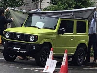 В Сети засветился новый Suzuki Jimny