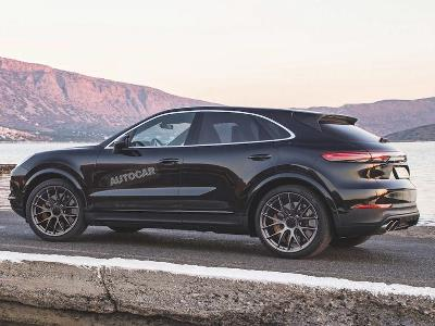 Porsche создаст изящную версию кроссовера Cayenne