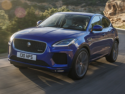 Jaguar представил обновленный паркетник E-Pace