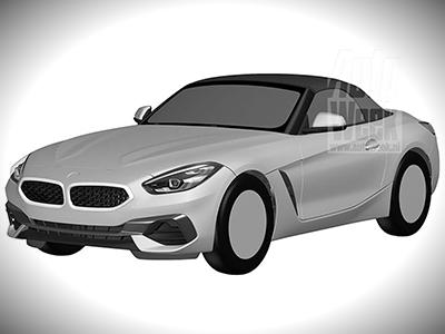 Раскрыт дизайн серийной версии BMW Z4