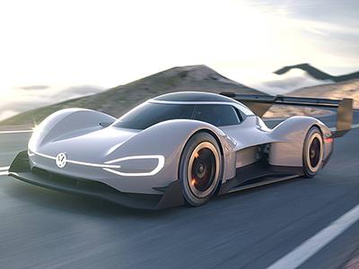 Volkswagen раскрыл характеристики электро-болида I.D. R Pikes Peak