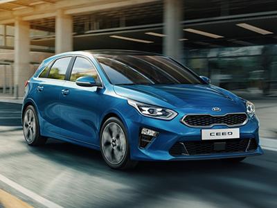 Kia анонсировала дату старта российских продаж нового Ceed