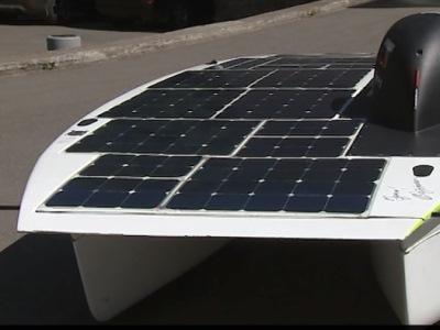В России создан автомобиль на солнечных панелях