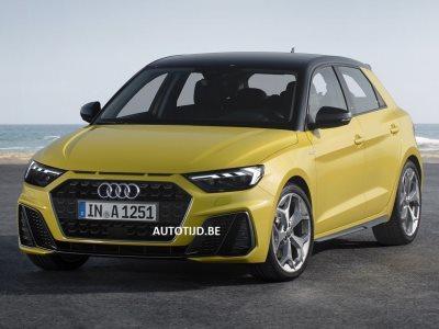 Рассекречена внешность нового Audi A1