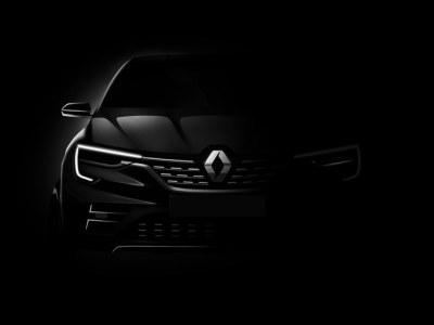 Renault показал первый тизер нового кроссовера