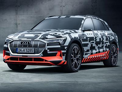 Audi отменила презентацию электрического кроссовера e-tron