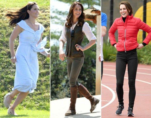Королева Елизавета II запретила спортивной Кейт Миддлтон участвовать в марафоне