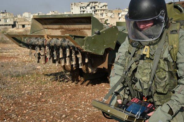 Новых роботов «Сфера» и «Скарабей» покажут в Муроме военным инженерам