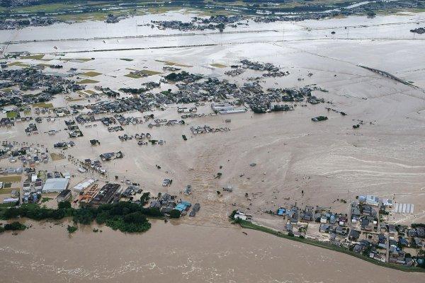 Количество погибших от ливней в Японии составило 85 человек
