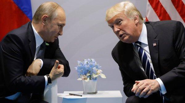 Не друг и не враг: Дональд Трамп считает Путина соперником