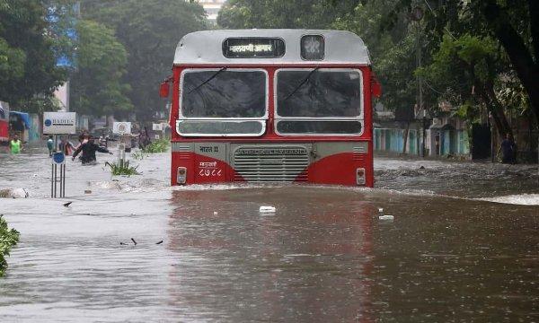 Бесстрашная старушка: В Великобритании в автобусе произошел ужасный потоп