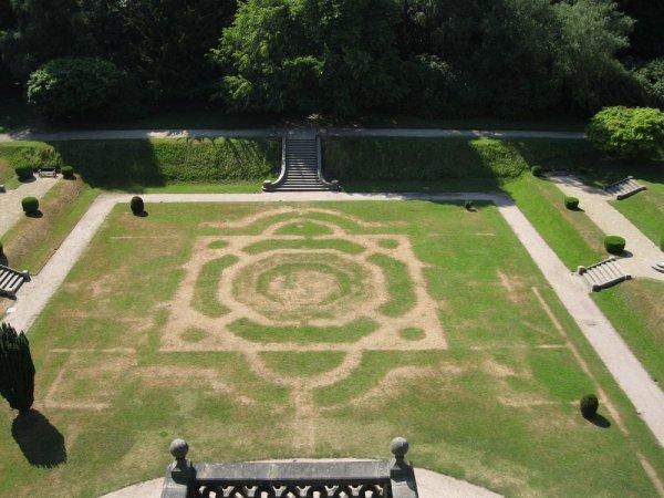 Викторианский «сад-призрак» вновь появился в Великобритании