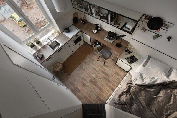 Мечта для ленивого: Найдена самая крохотная и дешевая квартира Москвы