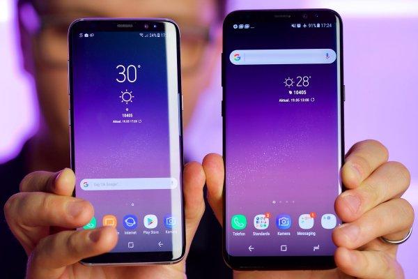 Samsung сравнила Galaxy S9 с iPhone X в новом рекламном ролике
