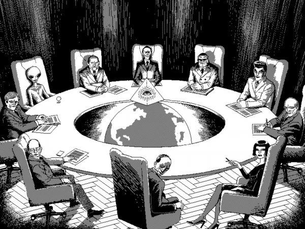 «Пятно под глазом»: конспирологи назвали отличительный знак тайного общества иллюминатов