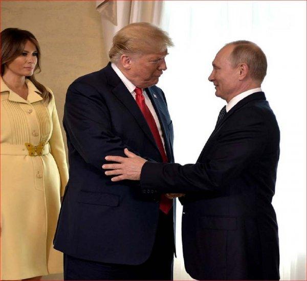 Трамп не перестаёт восхищаться встречей с Путиным
