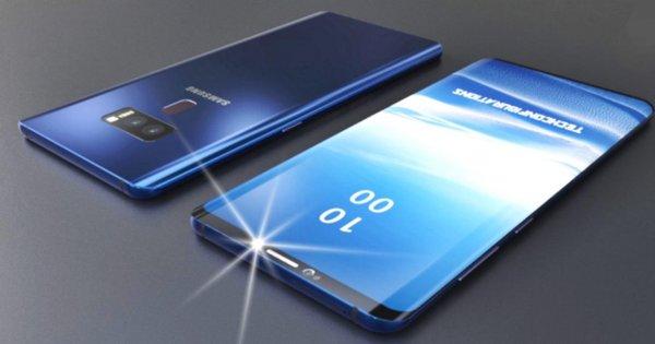 Samsung ранее срока будет продавать планшетофон Galaxy Note 9