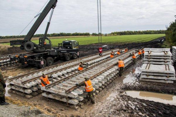 Компания из Канады построила железную дорогу в России в обход Украины