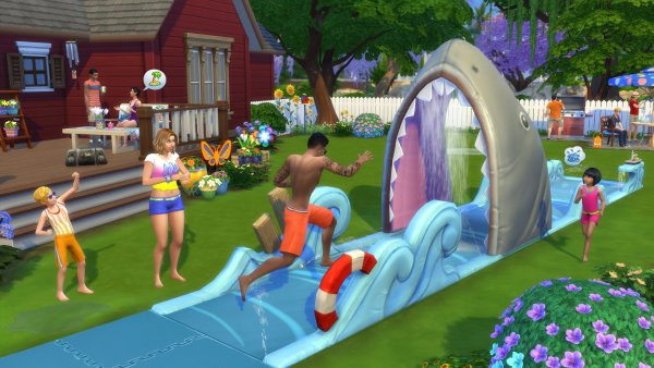 Эксперты выяснили, что британцы жестоко расправляются с персонажами The Sims