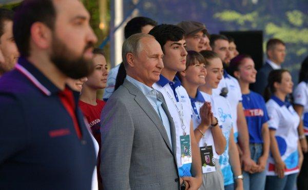 СМИ показали репетицию вопросов Путину среди студентов