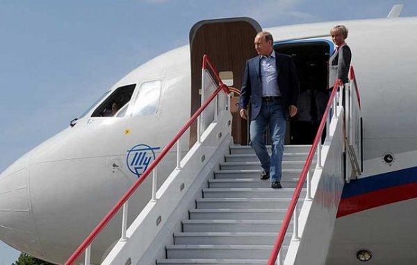 Путин прибыл в Грац на свадьбу австрийского министра Кнайсль