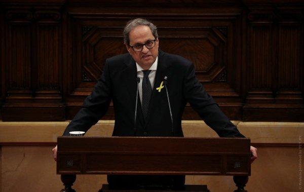 Глава Каталонии призвал перейти в атаку на Испанию