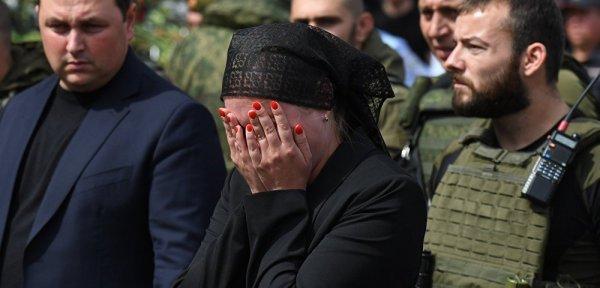 Вдова убитого Александра Захарченко: «Я хочу отомстить его убийцам»