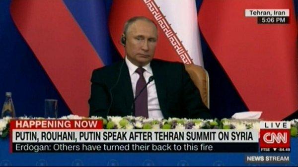 Российские СМИ посмеялись над грубой ошибкой CNN о Путине