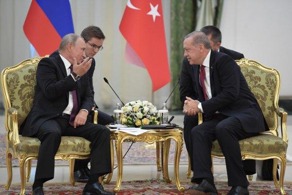 Эрдоган не исключает новой встречи с Путиным после посещения Германии