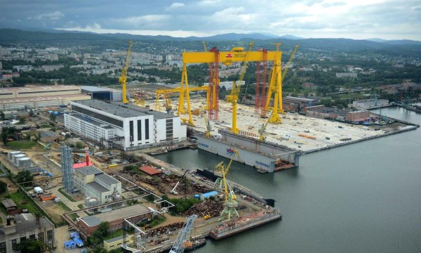 В Приморье дан старт строительству крупнейшего сухого дока