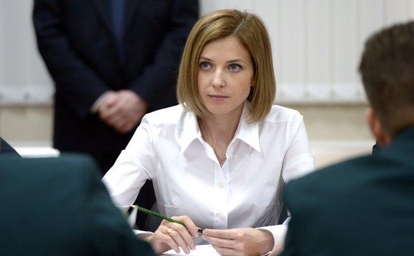 «Так и Крым обратно уйдёт»: В Сети поддержали лишённую должности Поклонскую