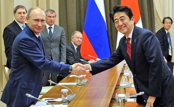 Абэ напомнил Путину о важном для Японии вопросе касательно Курил
