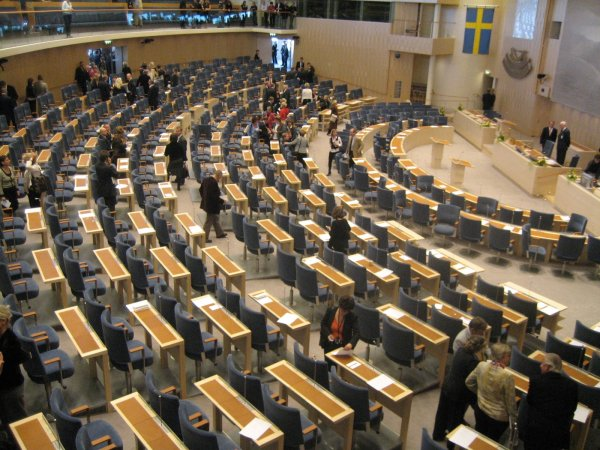 Парламент Швеции выступил против кандидатуры действующего премьера на новый срок