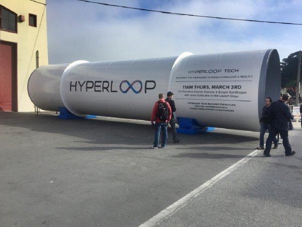 В Китае стартовало строительство самого скоростного Hyperloop в мире