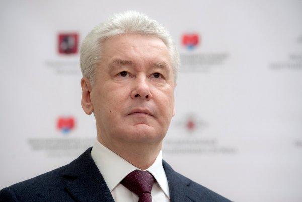 Собянин уверенно победил на выборах мэра Москвы