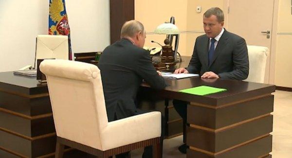 Путин предложил Морозову возглавить Астраханскую область и получил согласие