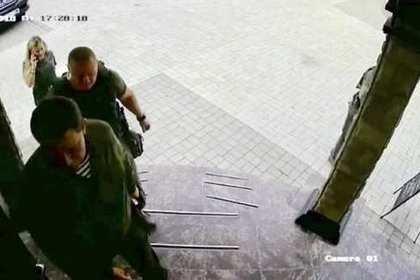 Опубликован снимок последних мгновений жизни Захарченко