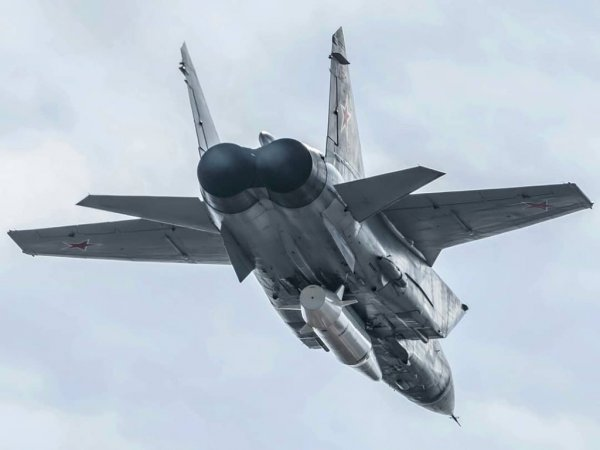 Истребители Миг-31 вскоре смогут уничтожать спутники