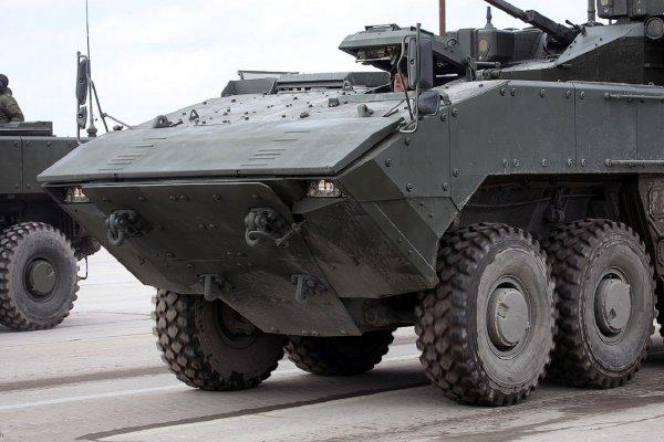 На БМП «Бумеранг» могут установить модуль «Кинжал» и ракеты «Атака»