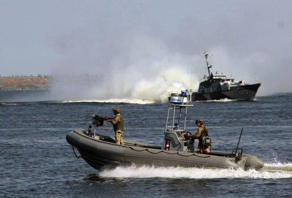 Украина проведет морские учения возле границ России