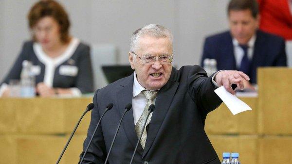 Жириновский требует применить к Украине жесткие меры